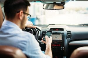 The Ways Texting Distracts a Driver